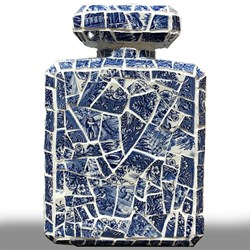 Bleu et Blanc Chanel by David Arnott - Original Mosaic sized 8x12 inches. Available from Whitewall Galleries